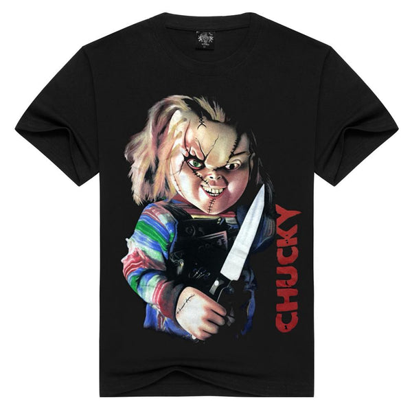 2018 Movie Child's Play Chucky Horror T-shirt Adult