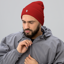 Load image into Gallery viewer, ESSENTIAL RED Cuffed Beanie