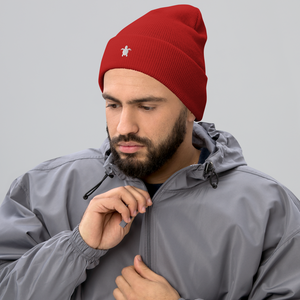 ESSENTIAL RED Cuffed Beanie