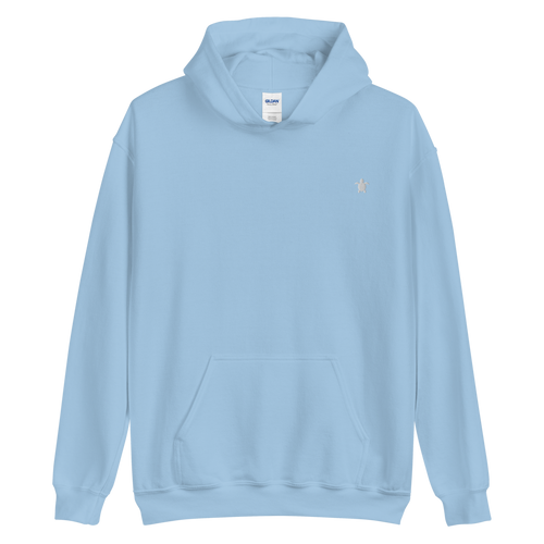 ESSENTIAL LIGHT BLUE HOODIE