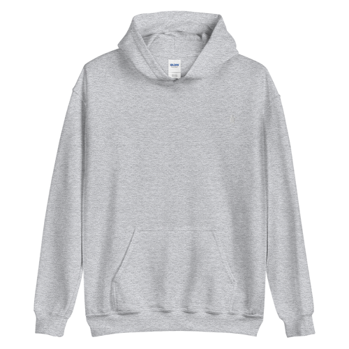 ESSENTIAL LIGHT GREY HOODIE