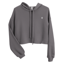 Load image into Gallery viewer, ESSENTIAL GREY Crop Hoodie