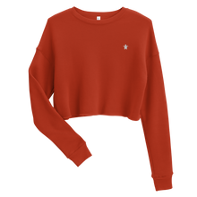Load image into Gallery viewer, ESSENTIAL RED Crop Sweatshirt