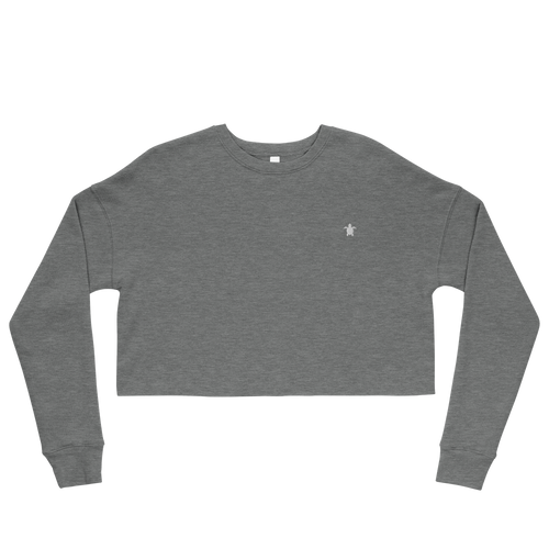 ESSENTIAL GREY Crop Sweatshirt