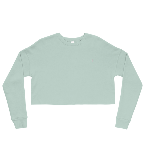 ESSENTIAL MINT Crop Sweatshirt