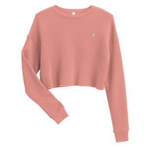 ESSENTIAL MUAVE Crop Sweatshirt