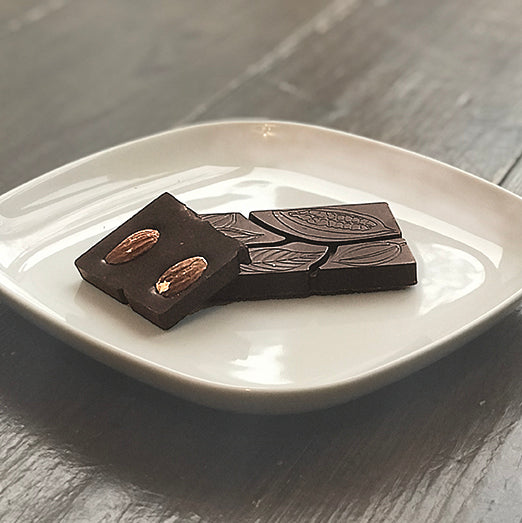 85% with Toasted Almonds - Farmhouse Chocolates