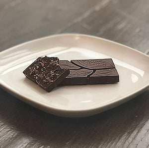 70% with Cacao Nibs + Sea Salt - Farmhouse Chocolates