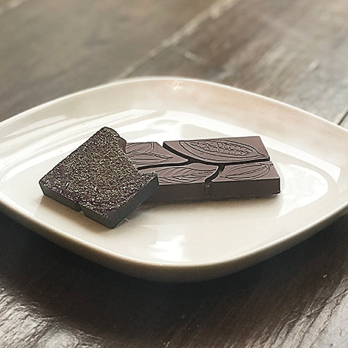 85% Dark Chocolate with Lavender Dust - Farmhouse Chocolates