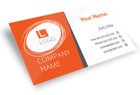 250 - Custom Proganiq Business Cards