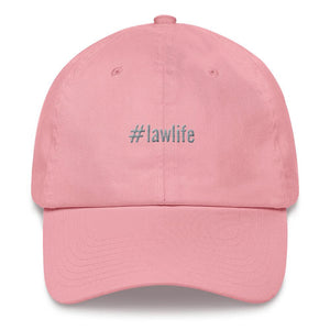 #lawlife dad hat
