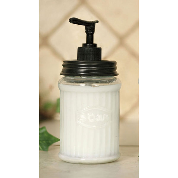Hoosier Soap Dispenser - Black