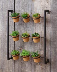 Metal Hanging Herb Planter