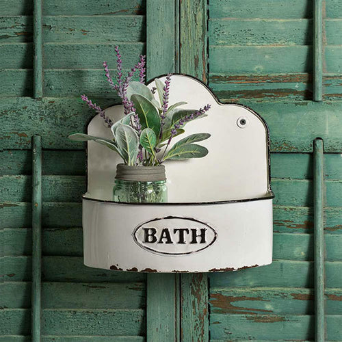 Bowed Bath Wall Caddy