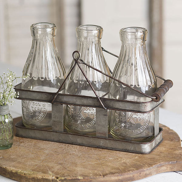 Three Milk Bottle Carrier