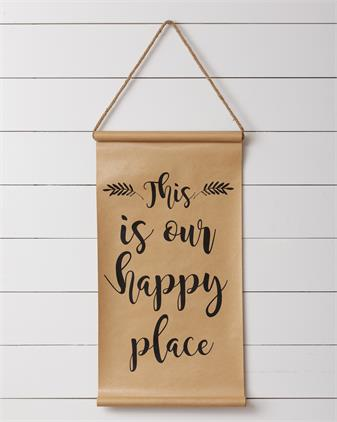 Scroll - This is Our Happy Place