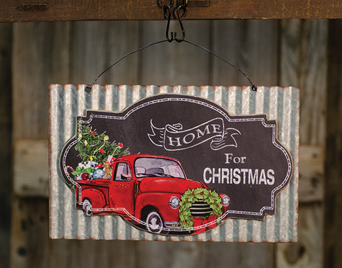 Home For Christmas Sign