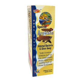Ocean Free - Special Arowana Internal Bacteria & Ulcer Away | 150ml