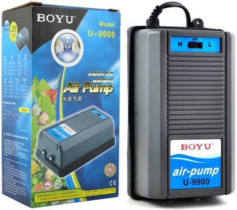 BOYU - U-9900 Dual Outlet Air Pump (192 LPH x 2)