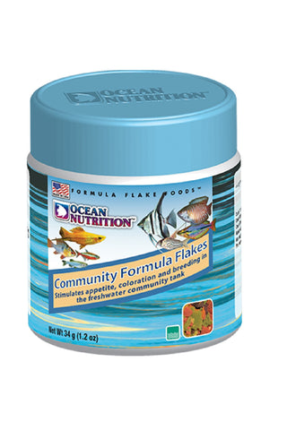 Ocean Nutrition Community Formula Flakes | Community Fish Food