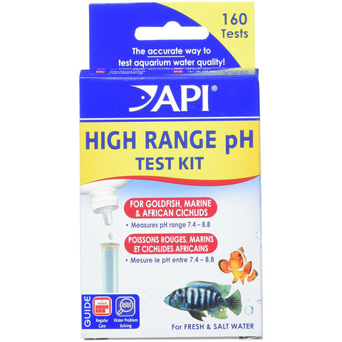 API - High Range pH Test Kit