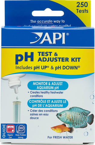 API -  pH Test & Adjuster Kit | 250 Tests