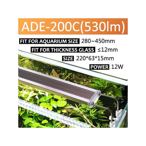 SUNSUN - ADE-200C Planted Tank LED Light | For 280-450mm tanks