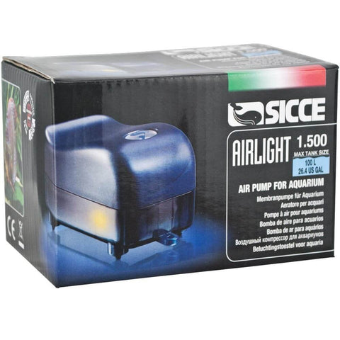 SICCE Airlight 1500 Silent Air Pump (90LPH x 1)