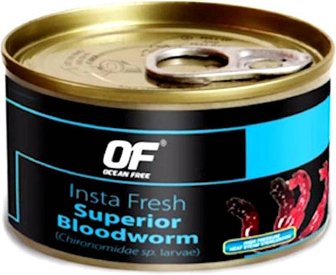 Ocean Free - Insta Fresh Superior Blood Worm | 100g