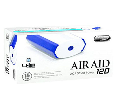 Aqua Zonic - AirAid 120 AC/DC Air Pump