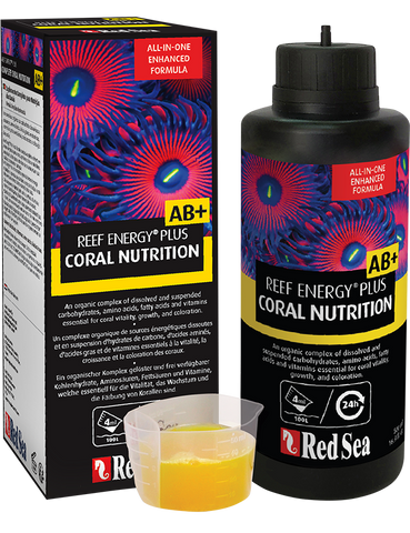 Red Sea Reef Energy Plus AB+ |  All-In-One Coral Superfood