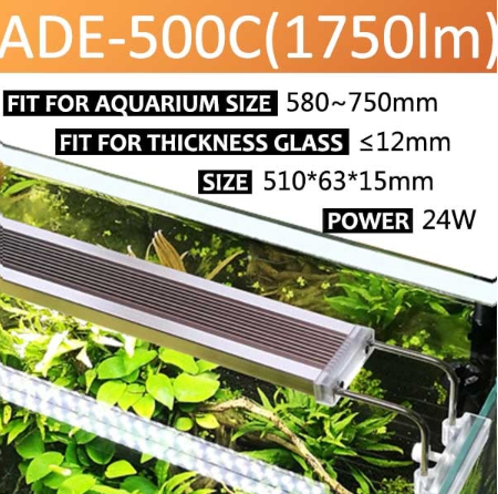 SUNSUN - ADE-500C Planted Tank LED Light | For 580-750mm tanks