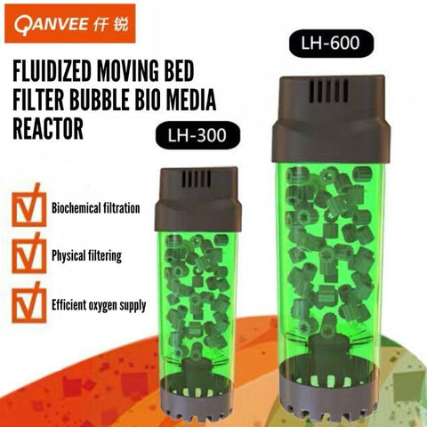QANVEE - Fluidized Moving Bed Filter / Bubble Bio Media Reactor