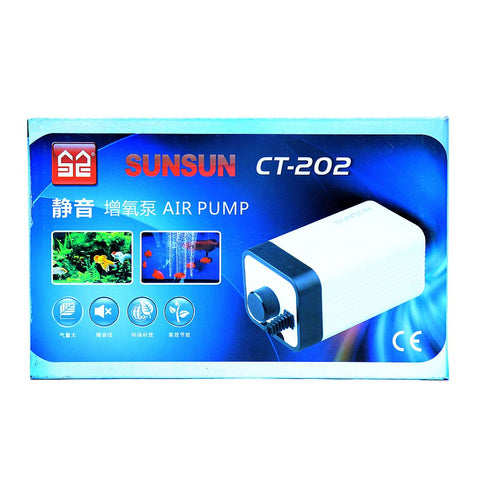 Sunsun CT-202 Two Way Silent Air Pump