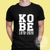 Kobe 1978-2020 Memorial Graphic Tshirt.