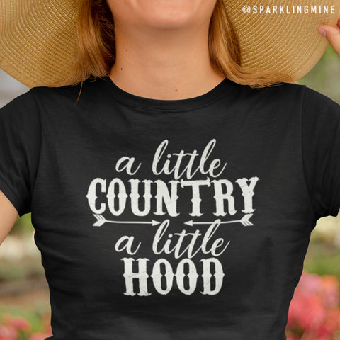 A Little Country, A Little Hood Graphic Tee.