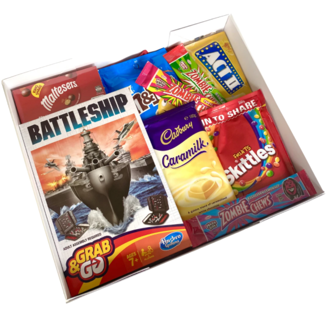 Games night lolly box - BattleShip