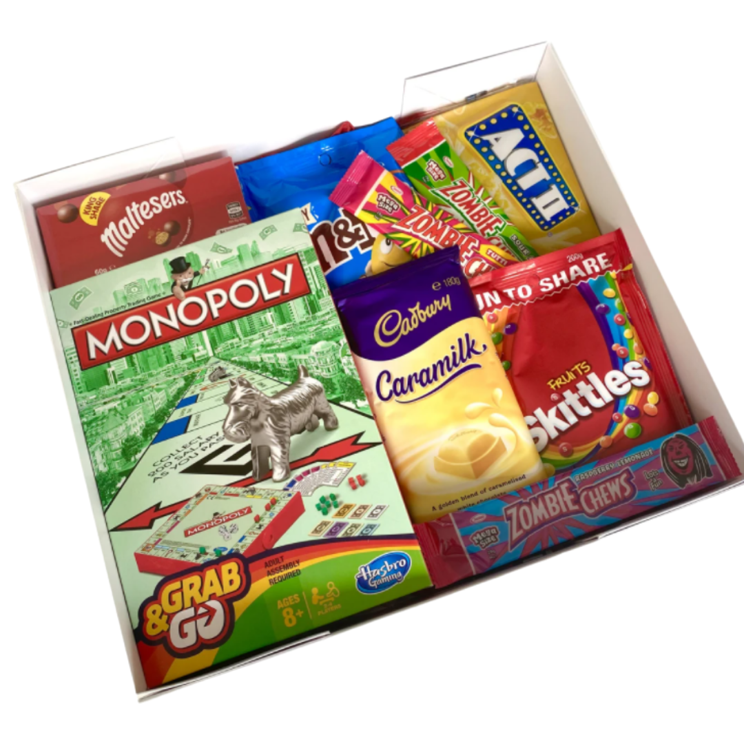 Games Night Lolly Box! - Monopoly