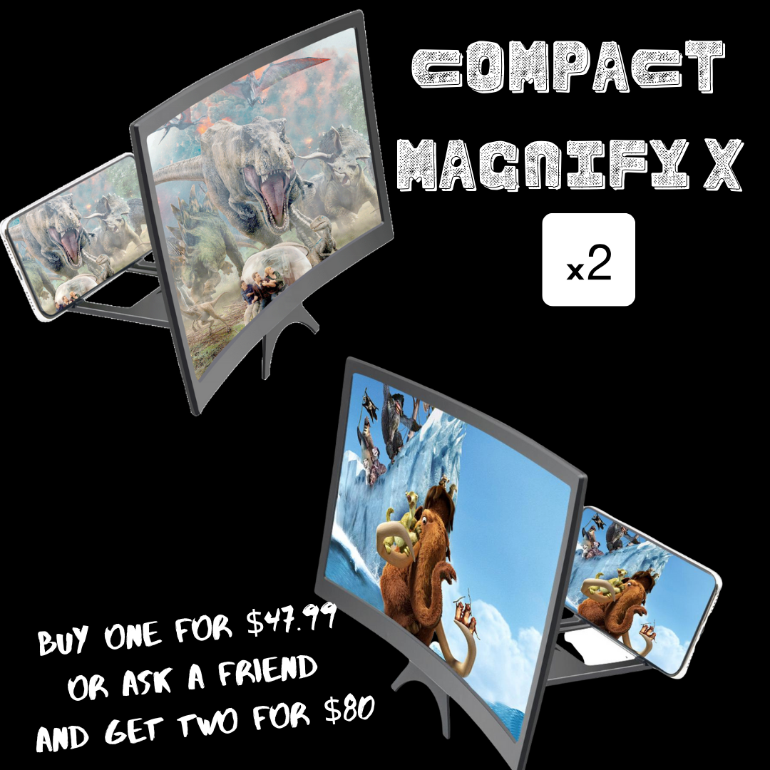 COMPACT MAGNIFY X ASK A FRIEND PACK