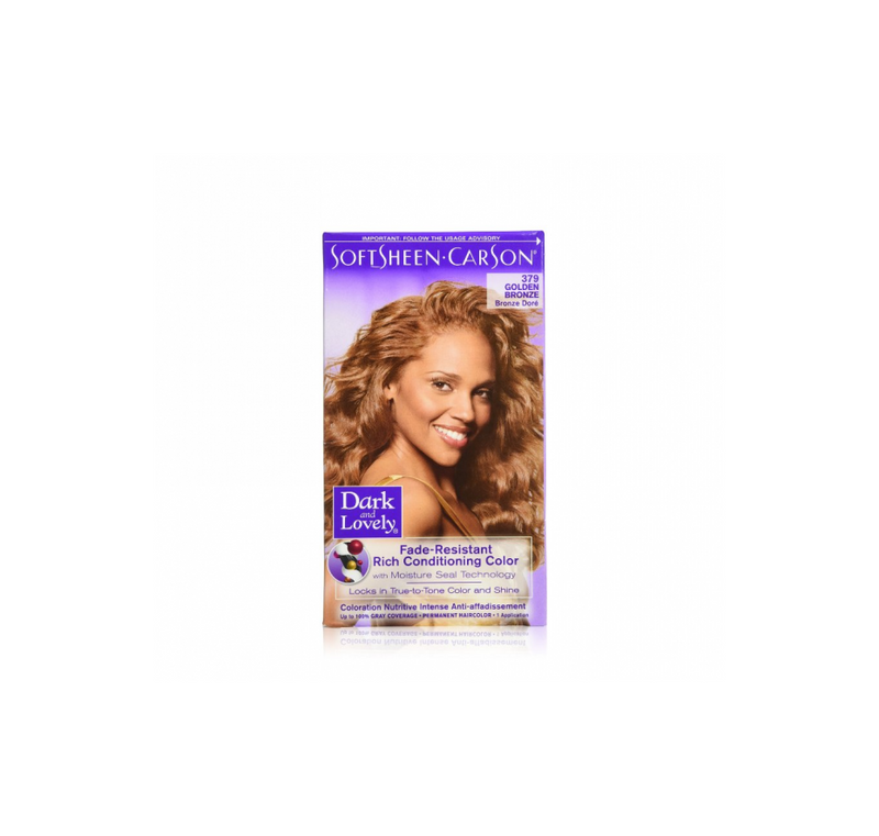 Dark & Lovely Fade Resistant Rich Conditioning Color Golden Bronze,