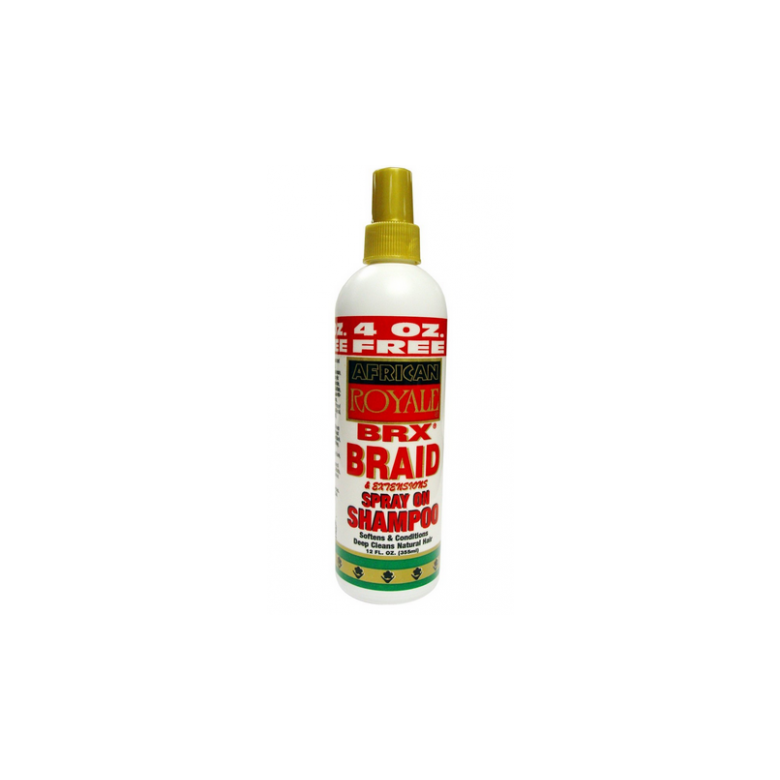 African Royale BRX Braid Spry Extensions Sheen Spray 12 oz.