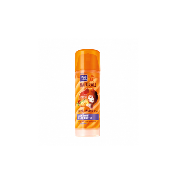 Dark & Lovely Au Naturale Anti-Shrinkage Easy Twist Gel N' Butter, 5 oz.