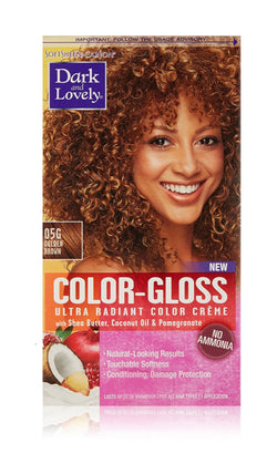 Dark & Lovely Color-Gloss Ultra Radiant Color Crème, Golden Brown