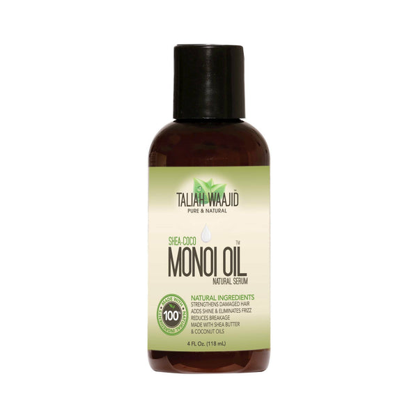 Taliah Waajid Monoi Oil Natural Serum, 4 Ounce