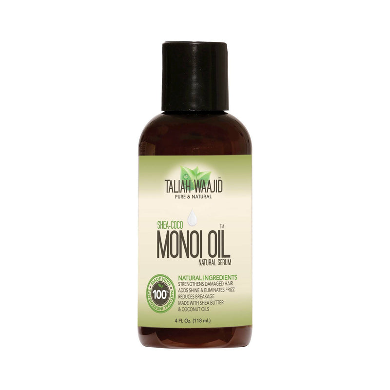 Taliah Waajid Monoi Oil Natural Serum, 4 oz.