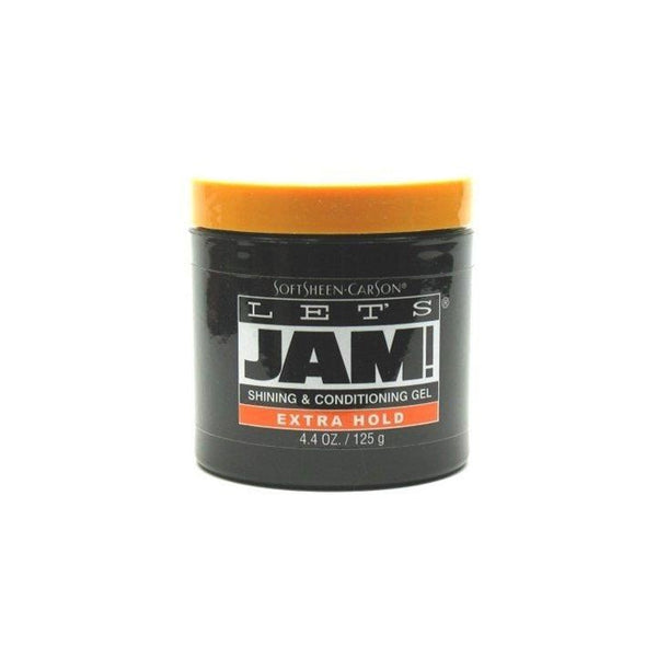 Lets Jam Condition & Shine Gel Extra Hold 4.4 Ounce Jar