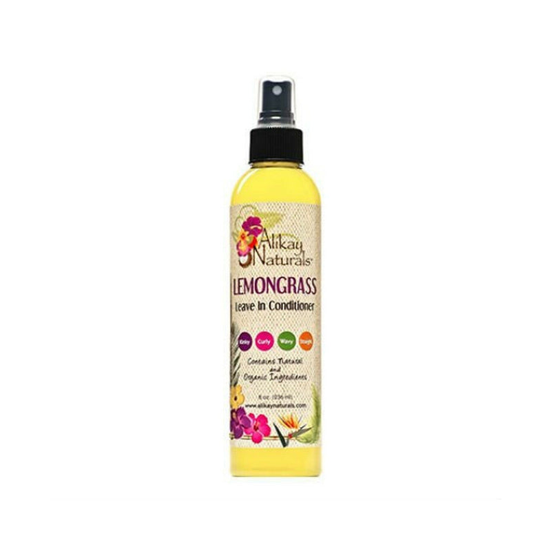 Alikay Naturals Lemongrass Leave-In Conditioner - 8oz
