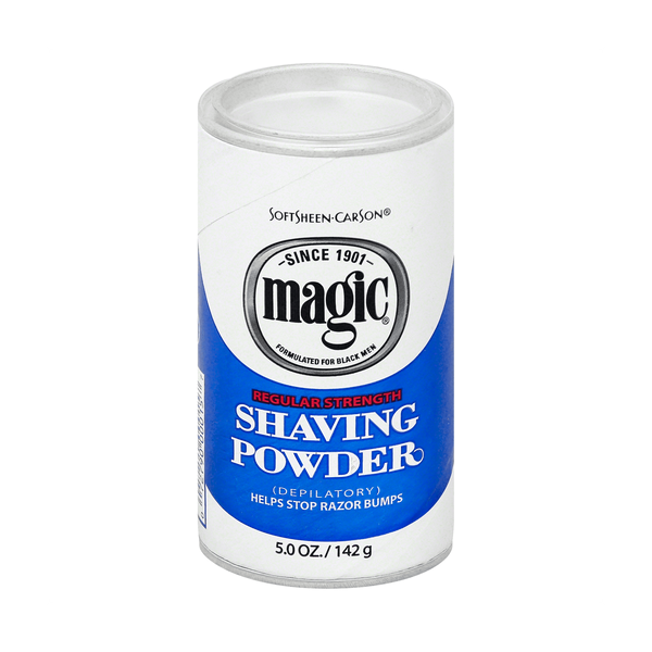 Magic Shave Regular Strength Shaving Powder Blue - 142G