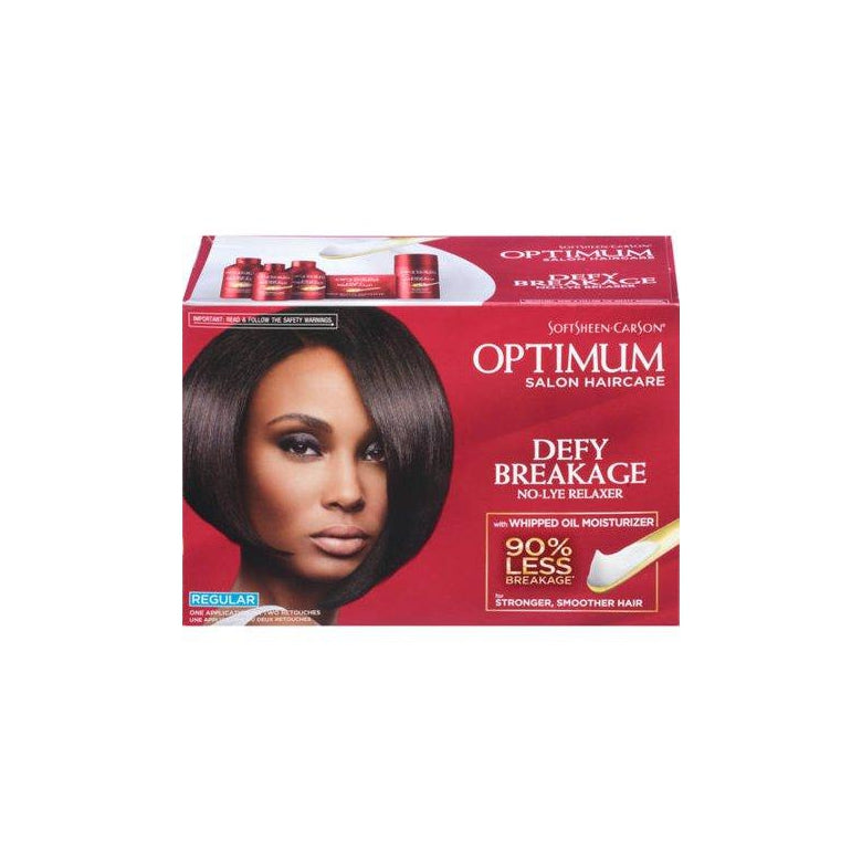 Optimum Care SoftSheen Carson Care Defy Breakage No-lye Relaxer, Regular Strength Normal Hair