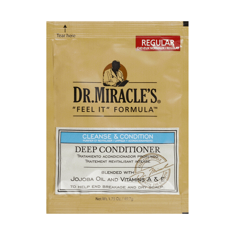 Dr. Miracle's Feel It Formula Deep Conditioning Treatment, 1.75 oz